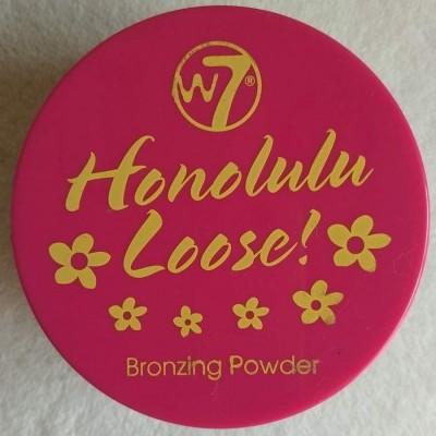 Pó Bronzeador W7 Honolulu Loser