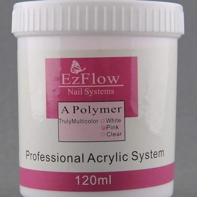 Pó Acrilico EzFlow Rosa 120 ml