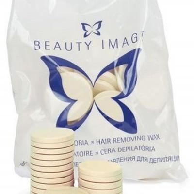 Cera Disco Branca - Beauty Image - 1 Kg