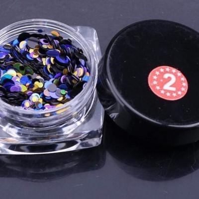 Confetis Bolinhas Coloridas Espelhadas - Nº 02