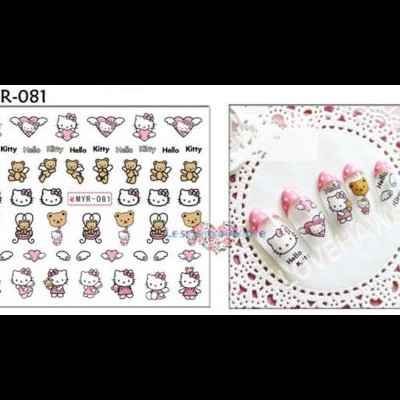 Autocolantes Hello Kitty 081