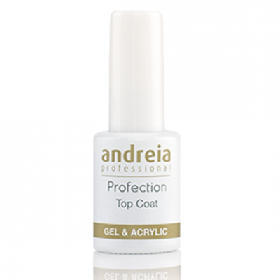 Andreia Profection Top Coat (Com Goma) Gel & Acrilico - 10.5 ml