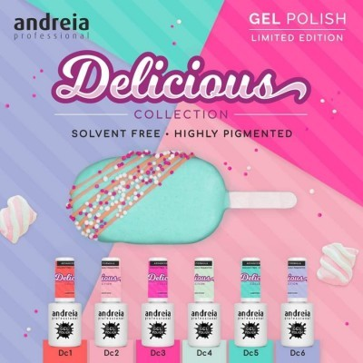Andreia - Coleção Delicious - 6 Cores