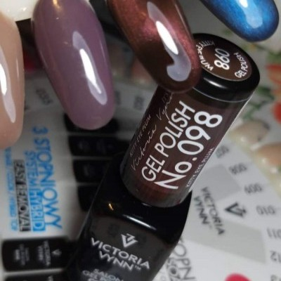 Victoria Vynn Verniz Gel Nº 098 - Kitty Eye Plum - Cat Eye - Magnético - 8 ml