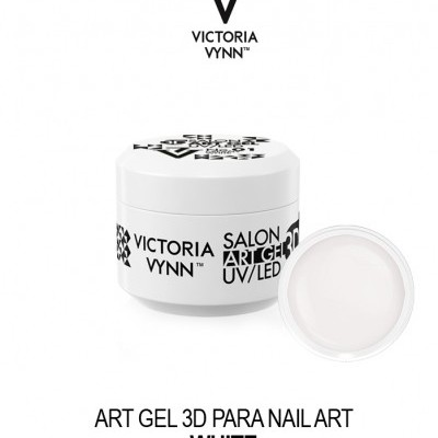 Victoria Vynn - Paint Gel para Nail Art - Branco - 5 ml