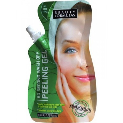 Beauty Formulas - 60 second wash off Peeling Gel