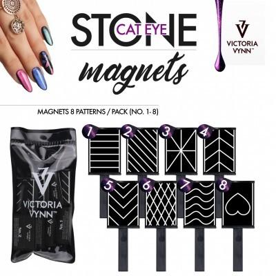 Victoria Vynn - Conjunto de 8 Iman para Verniz Gel Magnético
