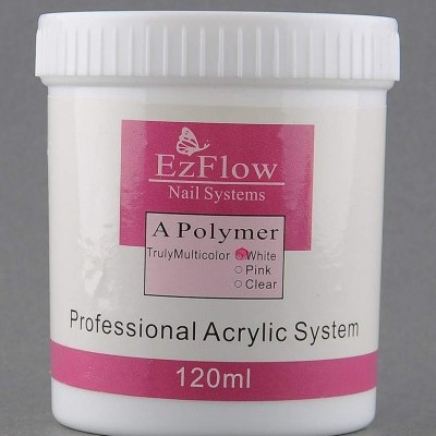 Pó Acrilico EzFlow Branco - 120 ml