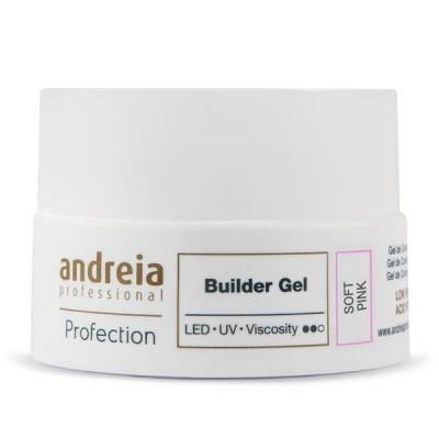 Andreia Hard Gel - Builder Gel - Soft Pink - 22 grs