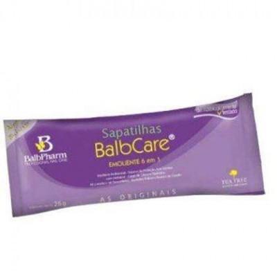 Balbcare - Botinhas emolientes para pedicure - 1 Saqueta