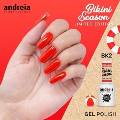 Andreia Bikini BK2 - Vermelho Neon