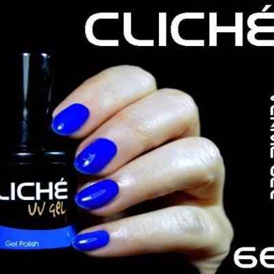 Verniz Gel Cliché 66 - Azul Escuro