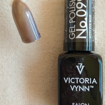 Victoria Vynn Verniz Gel Nº 099 - Kitty Eye Blue - Cat Eye - Magnético - 8 ml