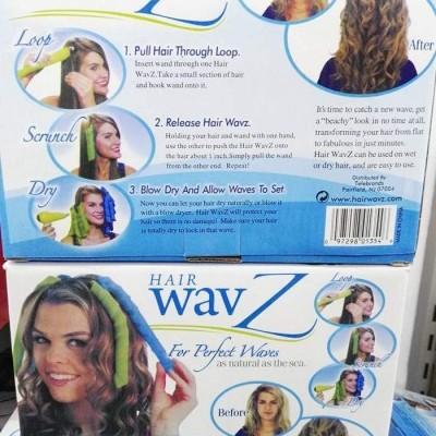 Encaracoladores de cabelo Hair Wavz