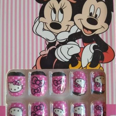 Unhas de Colar para crianças com Hello Kitty 2
