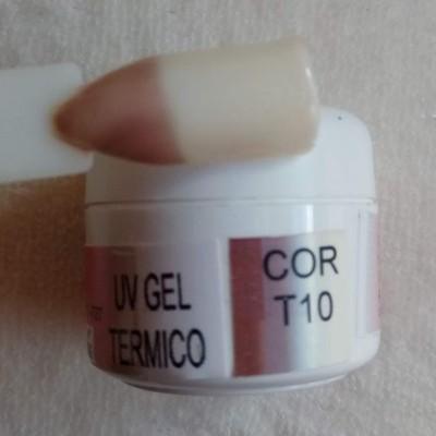 Gel Térmico T10 - Bege / Castanho Claro