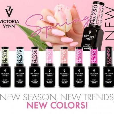 Victoria Vynn Verniz Gel - Coleção Primavera 2020 - Kit 7 Cores