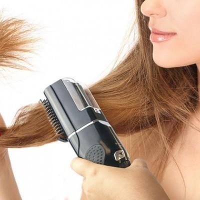 Máquina para contar pontas de cabelo