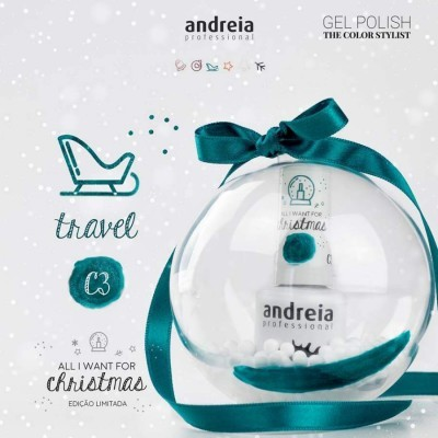 Andreia Verniz Gel C3 - All I Want For Christmas