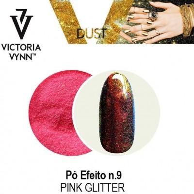 Victoria Vynn - Pó de efeito Nº 9 - Pink Glitter - 2 gr
