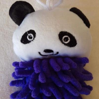 Toalhinha para limpar as mãos - Panda
