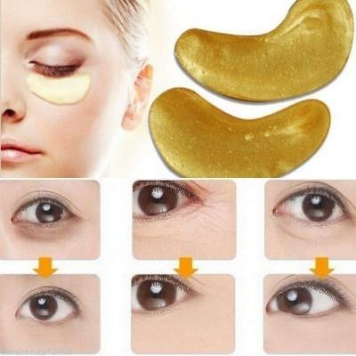 Pads Dourados com Colagéno para Olhos - Anti-idade, Anti-Rugas, Hidratante