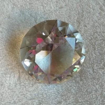 Cristal Transparente Pequeno