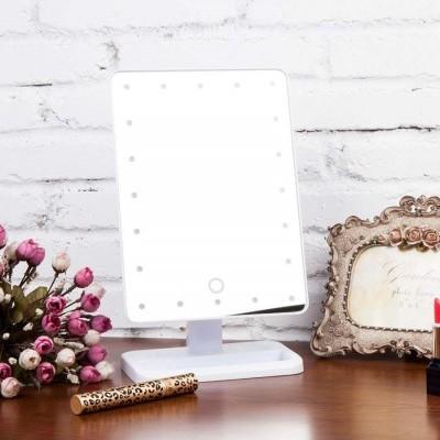 Espelho de Mesa com Luzes Led