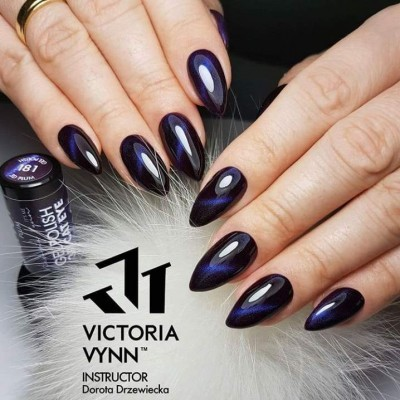 Victoria Vynn Verniz Gel Nº 181 - Plum - Cat Eye - Magnético - 8 ml