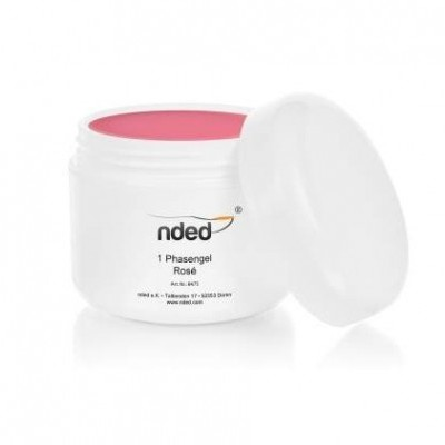 Gel Trifásico Rosa Nded 50 ml - PROMOÇÃO