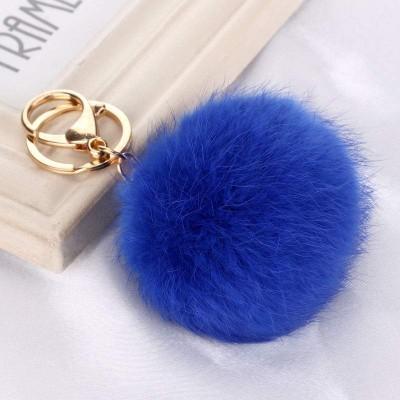 Porta-Chaves Pompom Pequeno Azulão