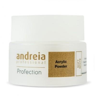Andreia Profection Pó Acrílico - Soft White - 35 grs