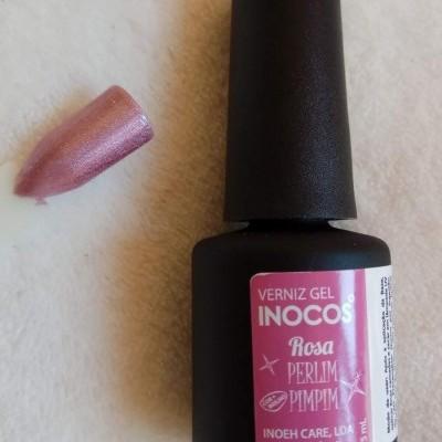 Verniz Gel Inocos Rosa - Perlimpimpim
