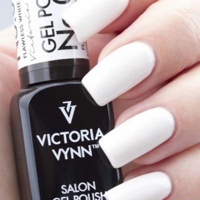 Victoria Vynn Verniz Gel Nº 001 - Flawless White - Branco Cal - 8 ml