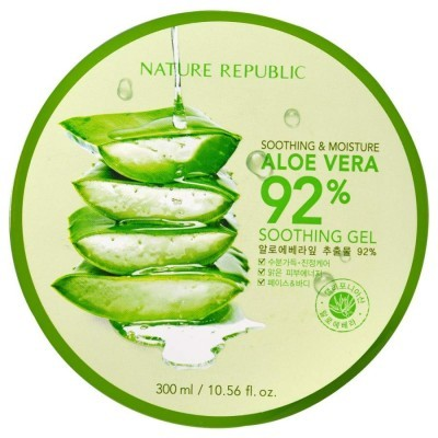 Gel de Aloé Vera Calmante e Hidratante, 92% - 300 ml
