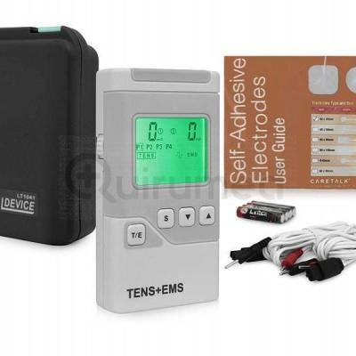 Eletroestimulador digital TENS/EMS 2 canais