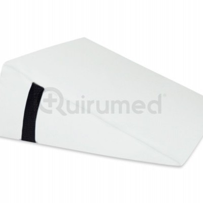 Almofada de massagem em cunha em couro sintético com 40x50x13cm