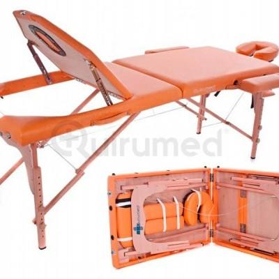 Marquesa portátil de madeira com encosto XL