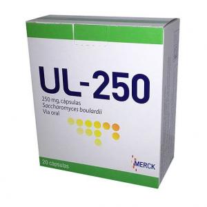 Ul-250, 250 mg x 20 Cápsulas