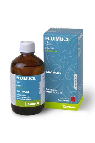 Fluimucil 2%  20mg/ml  200ml Sol. Oral