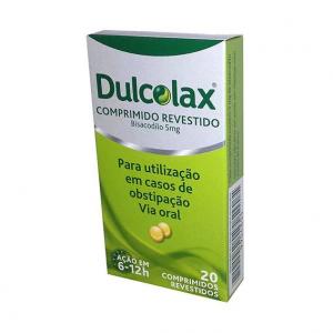Dulcolax 5mg x 20 Comprimidos Revestidos