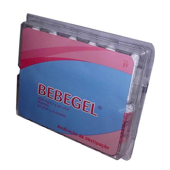 Bebegel, 3830 mg/4,5g x 6 Gel Reto Bisnaga
