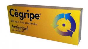 Cêgripe 500mg + 1 mg x 20 Comprimidos