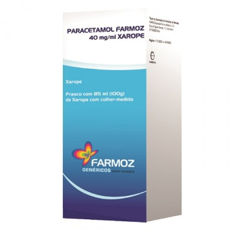 Paracetamol Farmoz 40mg/ml 85ml