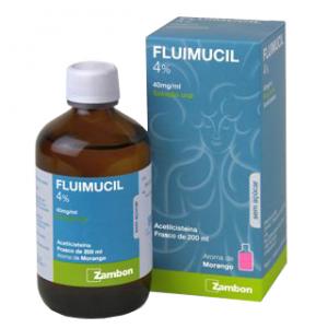 Fluimucil 4%, 40mg/ml  200ml Sol. Oral