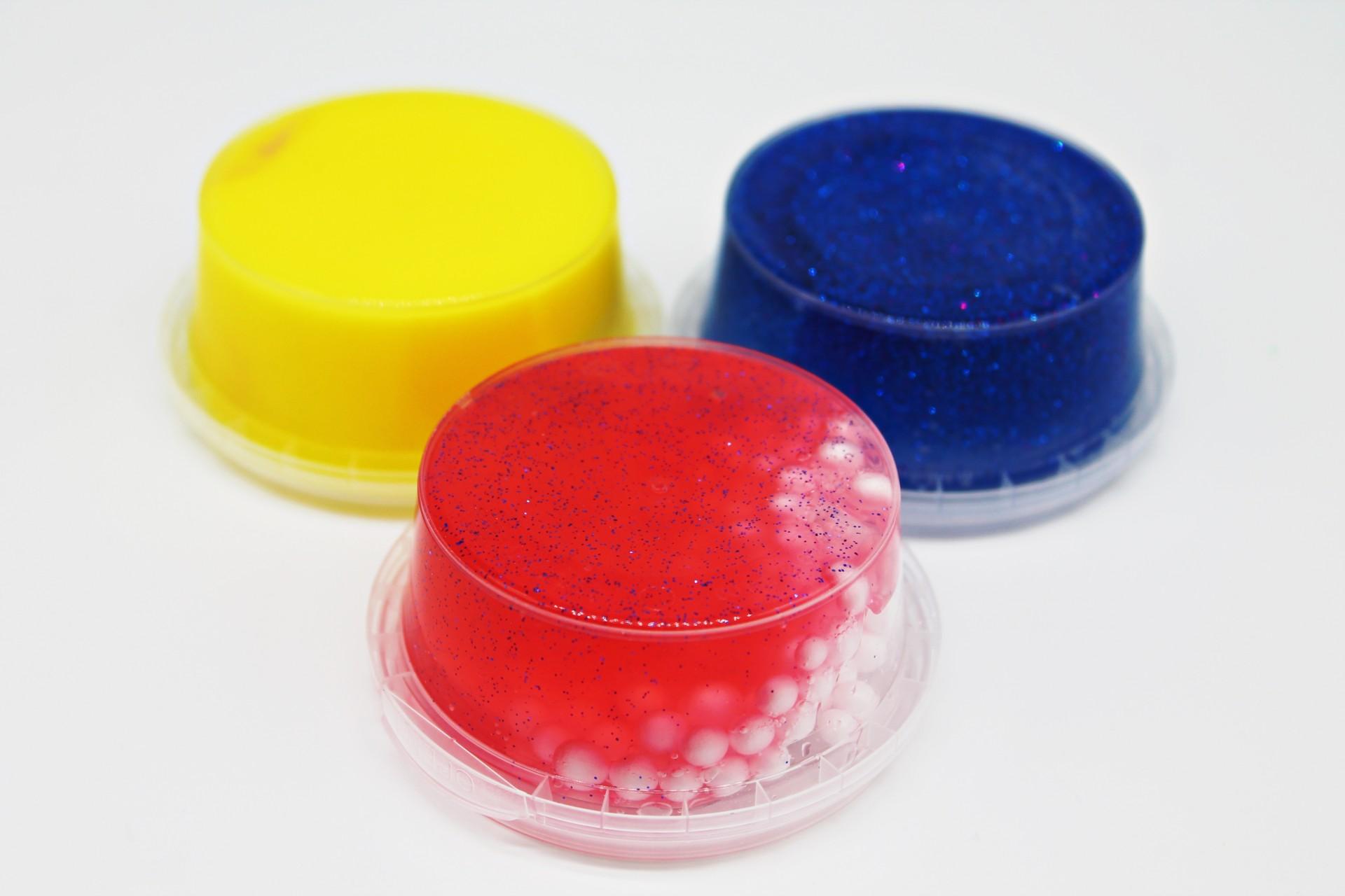 PROMOÇÃO: slime individual líquida - Pack de 4, 8 ou 12 aleatórias!