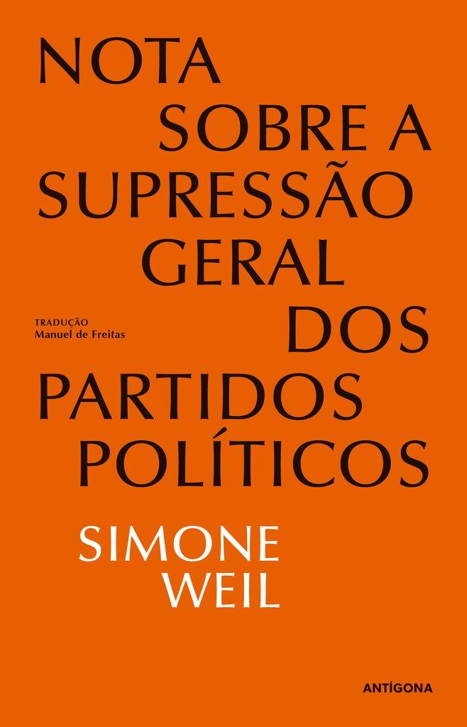 Nota sobre a Supressão Geral dos Partidos Políticos