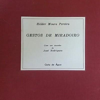 Gestos de Miradouro