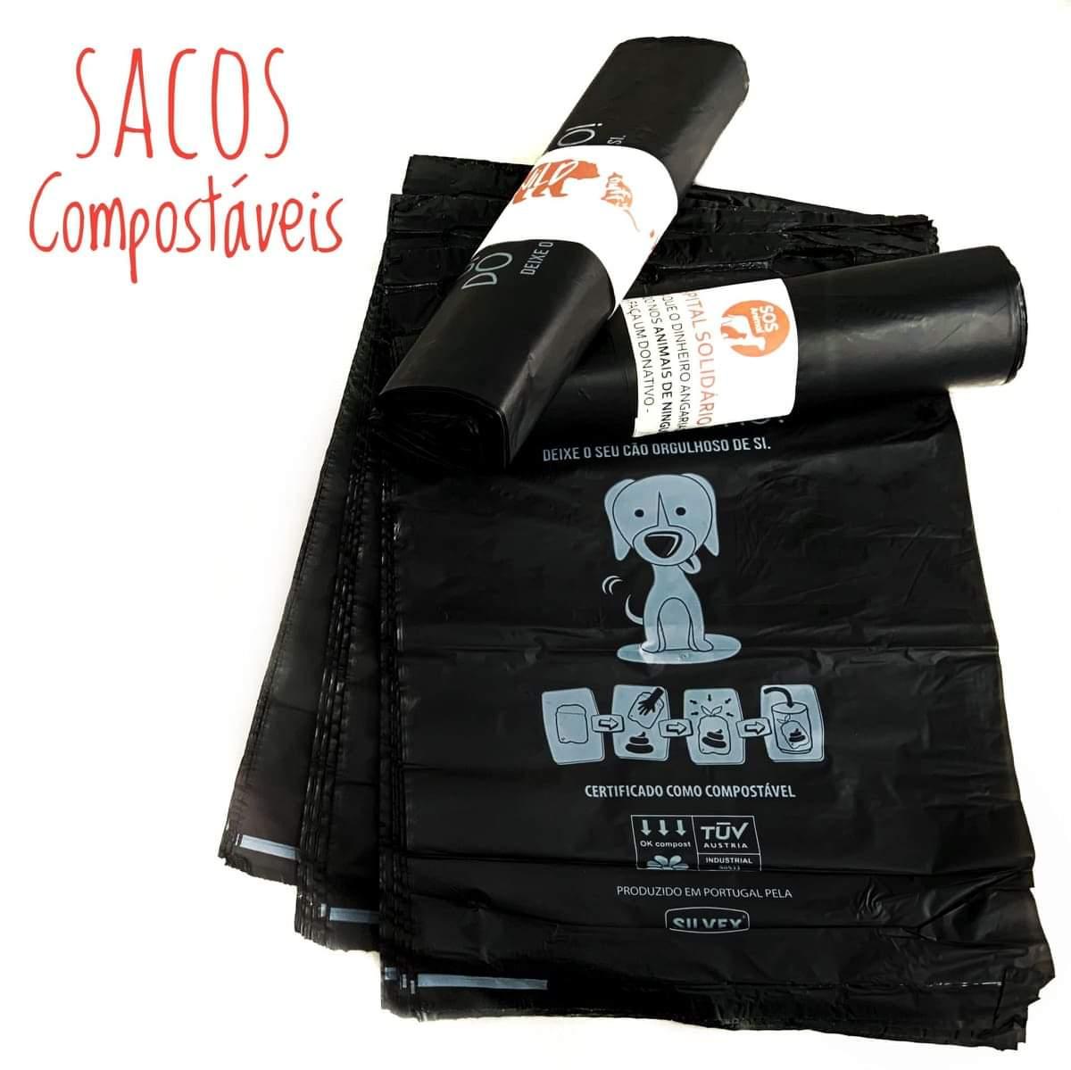 Saco Compostável - saco para dejetos