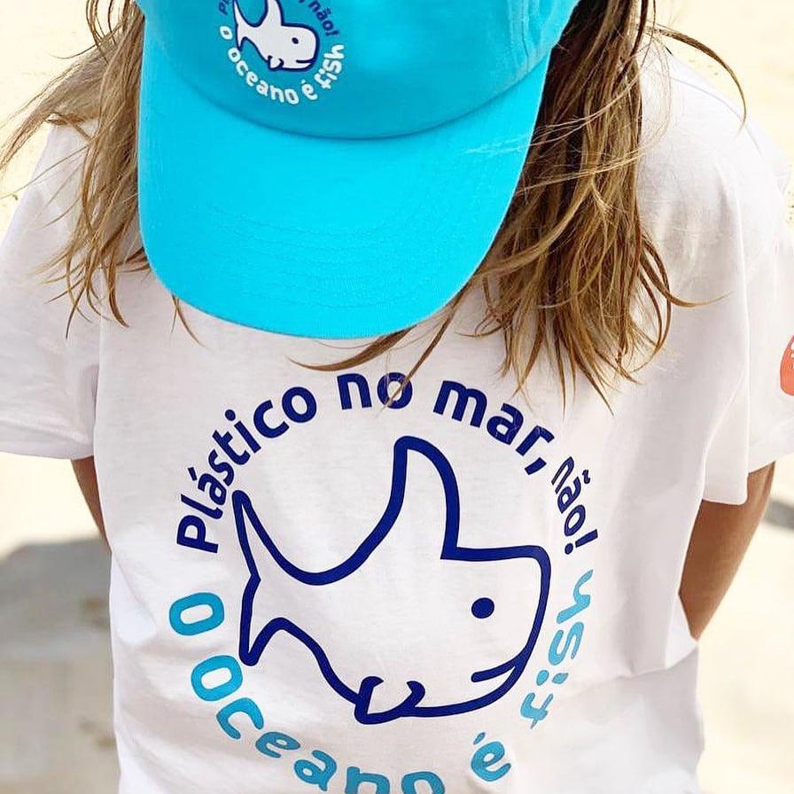 """T-shirt """"O oceano é fish"""""""